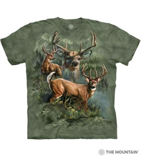 Deer Collage T-shirt | The Mountain®